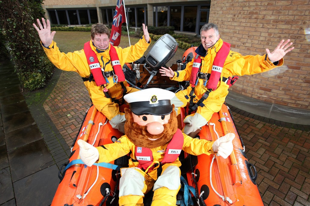 Yorkshire Building Society support the RNLI